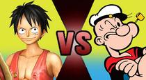 Luffy vs Popeye