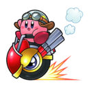 Kirby - Wheelie Rider Kirby