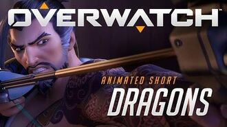 """Overwatch Animated Short """"Dragons""""-1"""