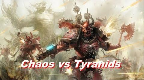 Chaos Space Marines vs Tyranids - Warhammer 40k Dawn Of War 2 Retribution - SupaEpicFun Mod-0
