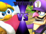 King Dedede vs Waluigi