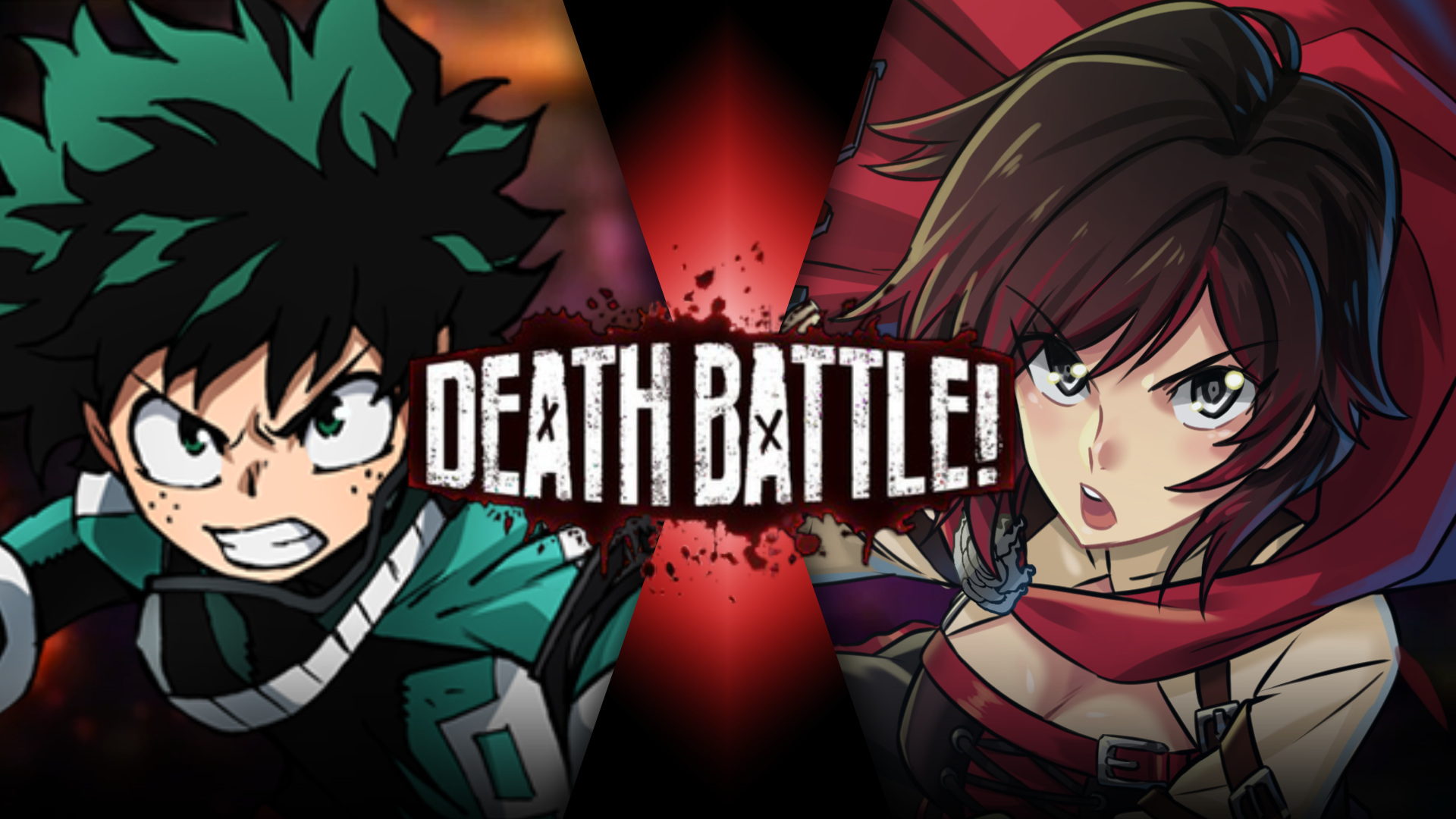 Izuku Midoriya Vs  Ruby Rose | Death Battle Fanon Wiki
