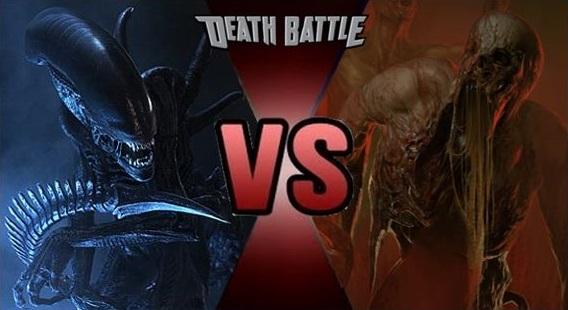 Xenomorphs vs. Necromorphs | Death Battle Fanon Wiki ...  Xenomorphs vs. ...