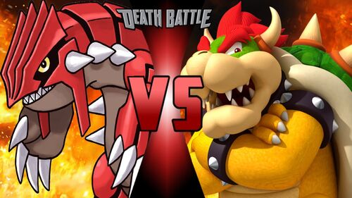 Groudon vs bowser