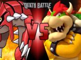 Groudon vs Bowser