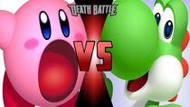 Kirby vs yoshi