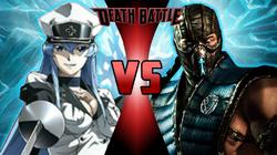 Esdeath VS Sub-Zero
