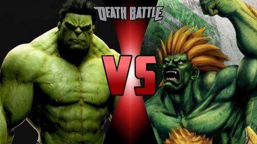 Hulk stomps
