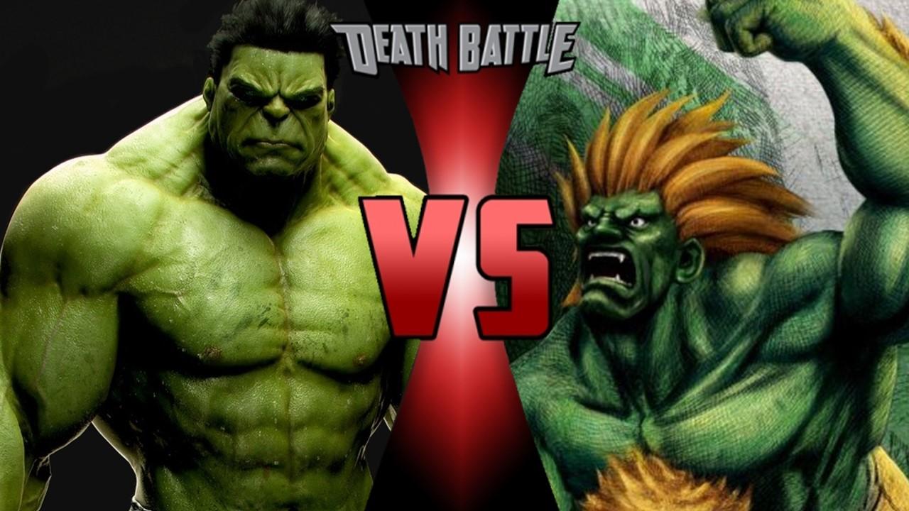 hulk vs blanka death battle fanon wiki fandom powered by wikia