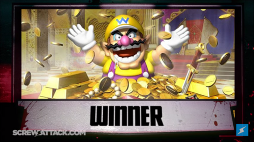 Wario Winner