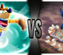 Crash Bandicoot VS Stitch