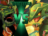 Fin Fang Foom vs Rayquaza