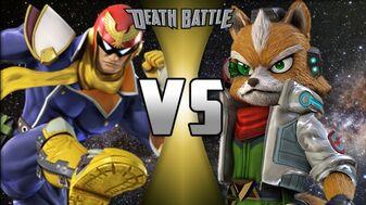Fox McCloud vs Captain Falcon | Death Battle Fanon Wiki