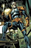 DC Comics - Deathstroke prepairing himself