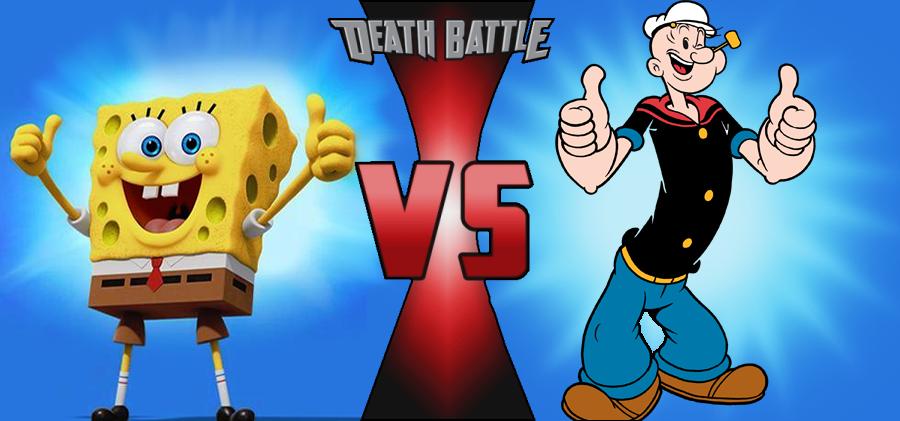 popeye vs spongebob squarepants death battle fanon wiki fandom