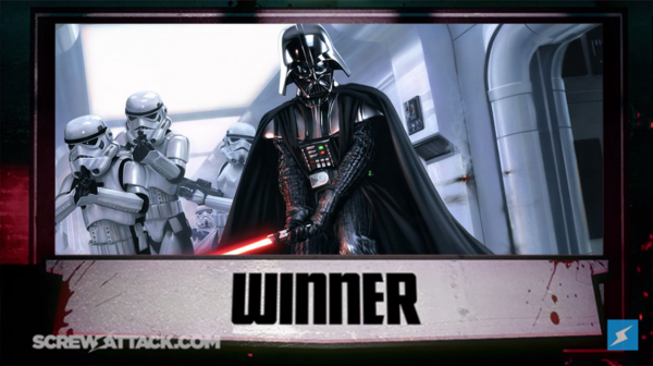 Winner - Darth Vader