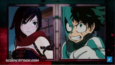 Izuku Midoriya Vs  Ruby Rose   Death Battle Fanon Wiki