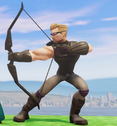 Hawkeye in Disney Infinity 2