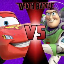 Buzz Lightyear Vs Lightning Mcqueen Death Battle Fanon Wiki Fandom