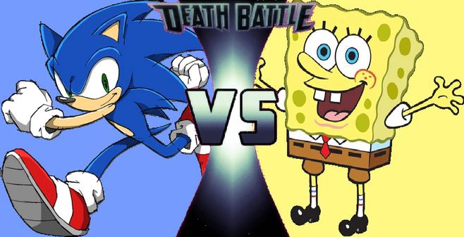 Sonic vs Spongebob