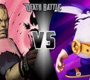 Dan Hibiki VS Big the Cat