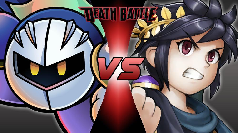 Meta Knight VS Dark Pit