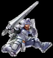 Ghosts 'n Goblins - Sir Arthur as he appears in Namco × Capcom