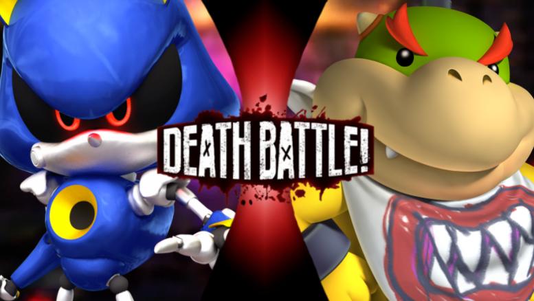 Bowser Jr  VS Metal Sonic   Death Battle Fanon Wiki   FANDOM powered