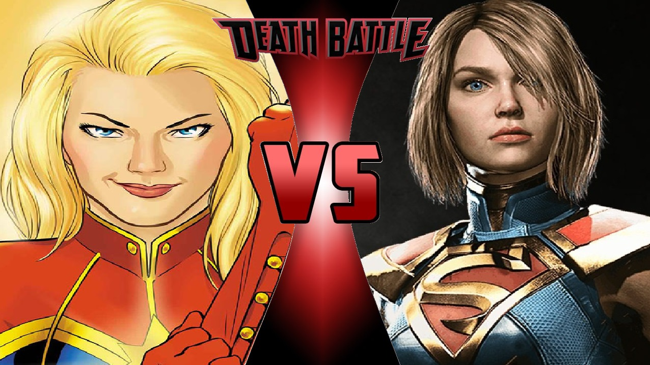 Image - What-if Death Battle Captain Marvel vs. Supergirl ...