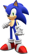 Sonic the hedgehog render by mintenndo-d6xs5kr