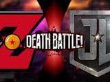 Z-Fighters VS Justice League