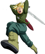 Super saiyan future trunks dragon ball super by mad 54-dahxmdi