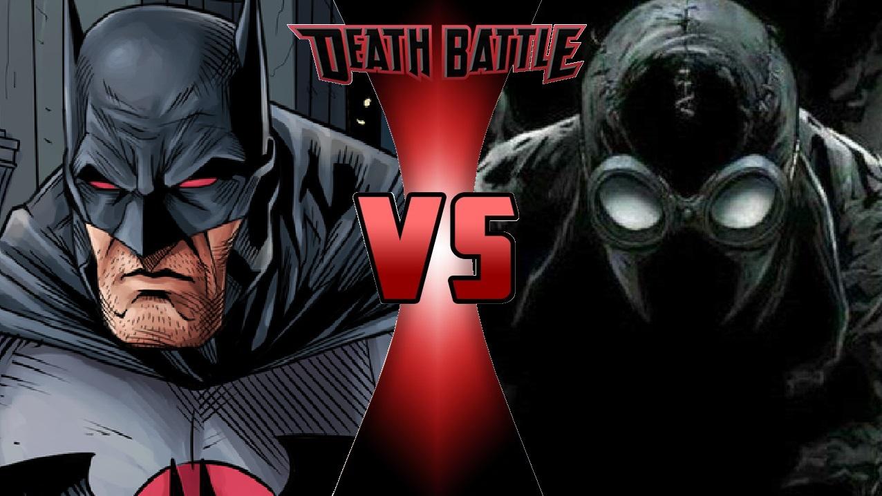 image - what-if death battle flashpoint batman vs. spider-man noir