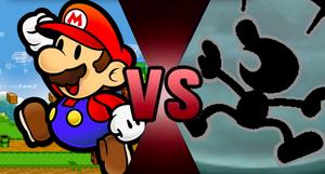 Paper Mario vs. Mr