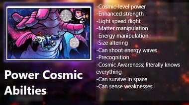 Deadpool power cosmic