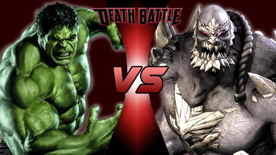 Image - Hulk VS Doomsday V2 (by DoomFest).png | Death ... Doomsday Vs Hulk Death Battle