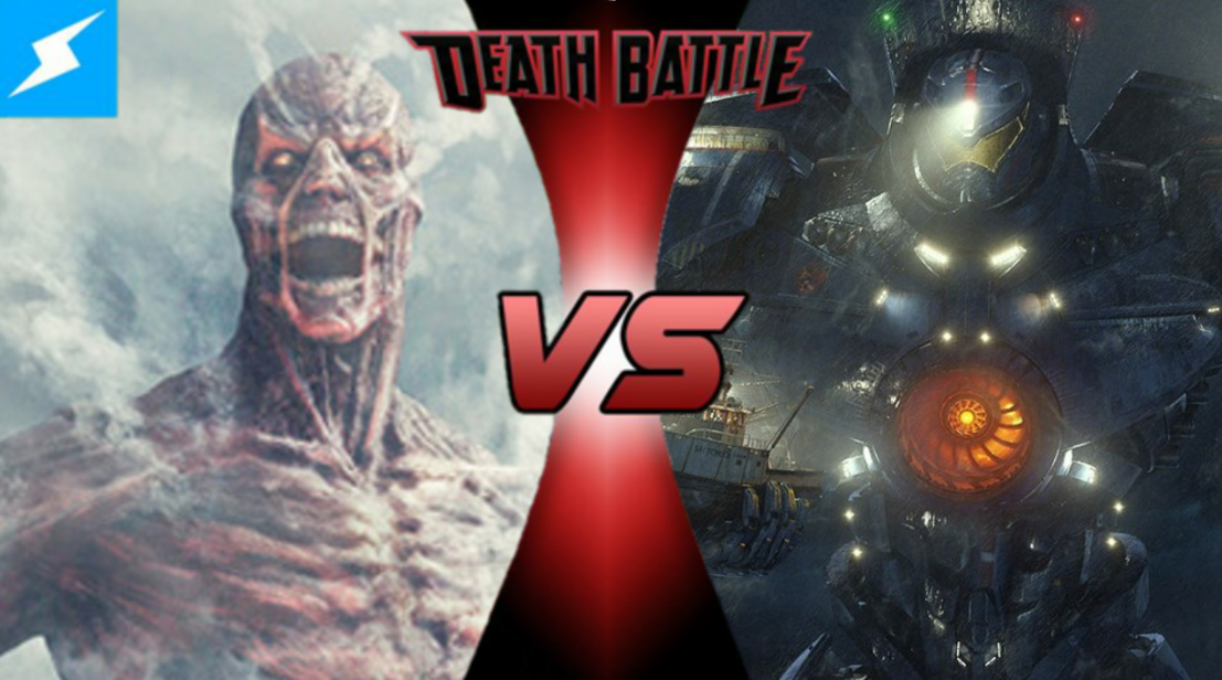 Image - Collosal Titan VS Gipsy Danger.png | Death Battle ...