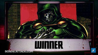 Dr doom wins
