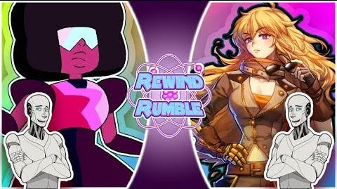 GARNET vs YANG! ft Just A Robot! (Steven Universe vs RWBY) REWIND RUMBLE