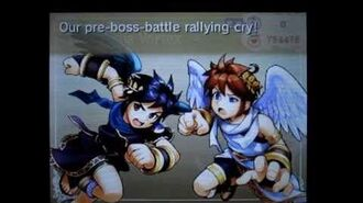 Pre-Boss Battle Rallying Cry (Chapter 21 Ground Battle; 13th Wave) - Kid Icarus Uprising