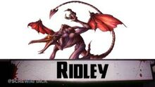 Ridley intro card