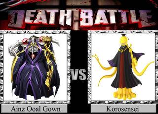 Ainz Ooal Gown vs Korosensei