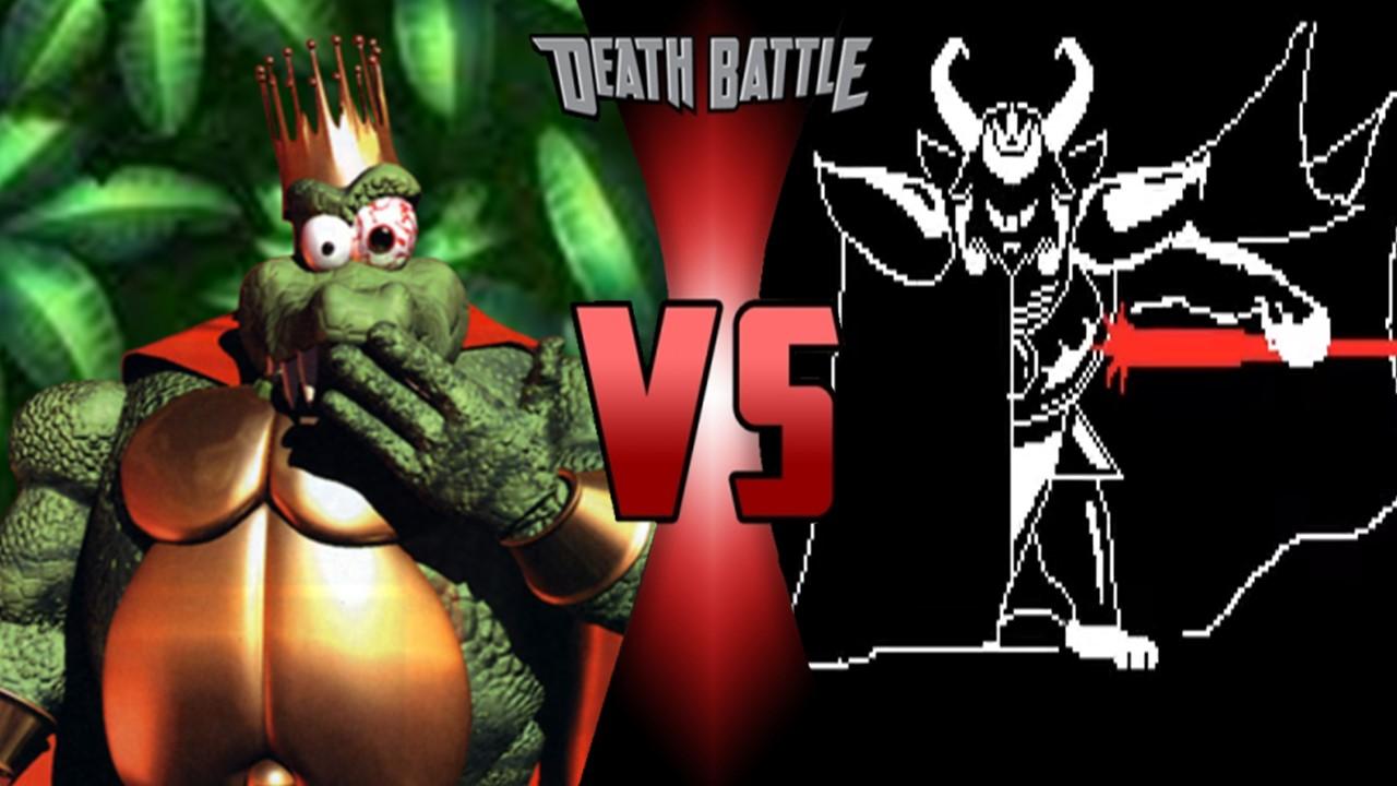 King K  Rool vs Asgore Dreemurr | Death Battle Fanon Wiki