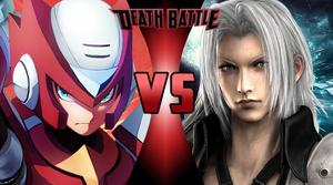 Zero (Mega Man X) vs Sephiroth