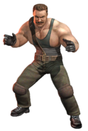 Final Fight - Mike Haggar as he appears in Final Fight Street Wise