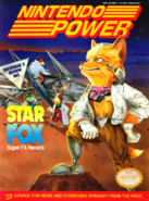 Star Fox - Fox McCloud and his crew as they appear on the front cover of Nintendo Power
