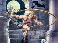 Castlevania - Simon Belmont in action