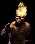 Twisted Metal - Sweet Tooth himself as he appears in Twisted Metal Black