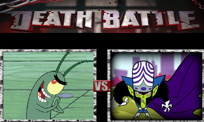 Plankton vs Mojo jojo