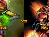 Starfire vs. Miss Marvel